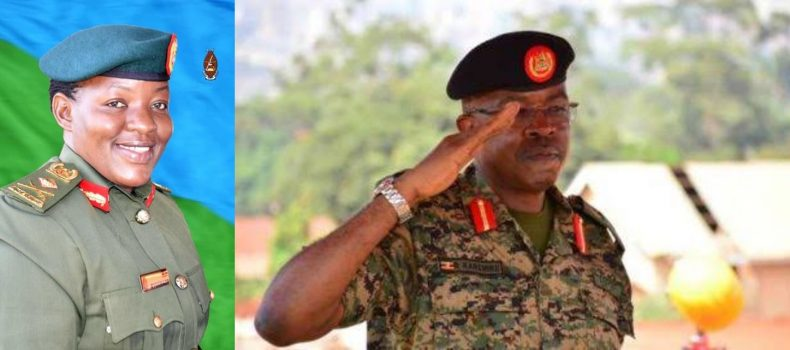 Brig. Gen. Richard Karemire replaced by Brig. Gen. Flavia Byekwaso as spokesperson of the UPDF