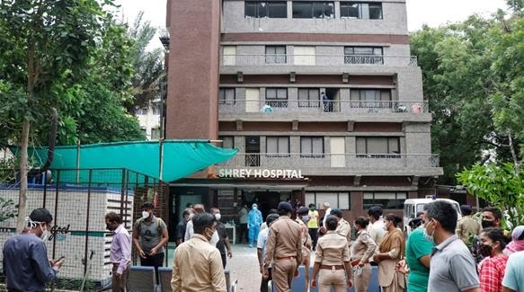 Fire Kills 8 COVID19 Patients