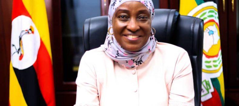 Hon. Sarah Kanyike Assumes New Office At Gender Ministry