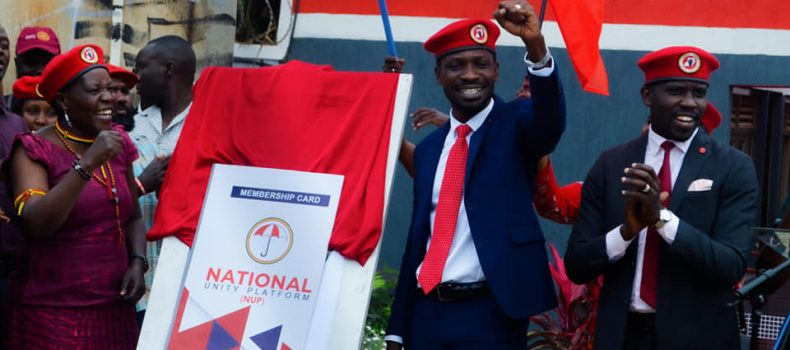 NURP Members Sue Founder(Nkonge) Bobi Wine Over Changes In Party