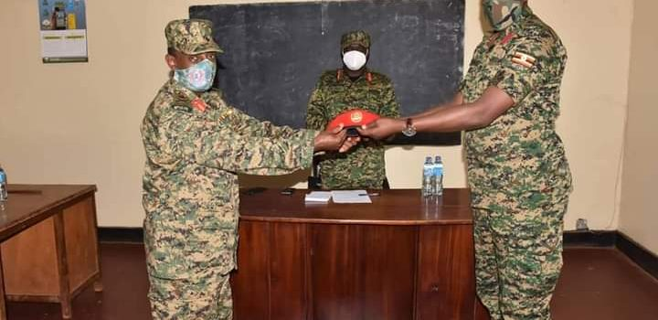 Col. Katungi Takes Over Military Police Command