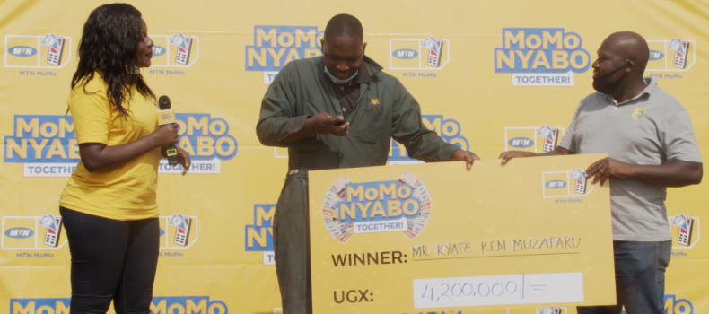 I Could Not Believe It When They Called Me – MUBS Student Wins Big With MTN MoMoNyabo