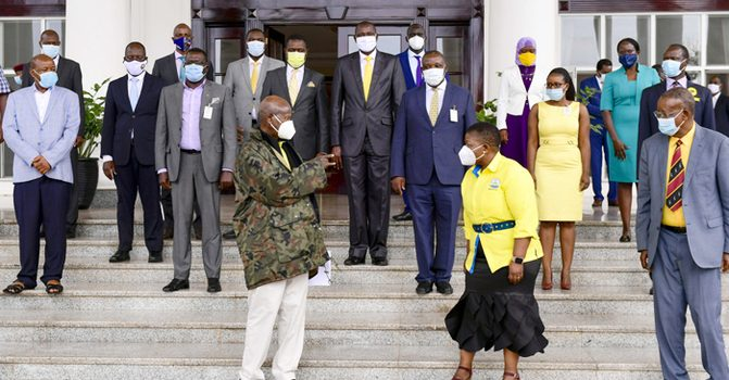 Museveni launches NRM Manifesto Committee