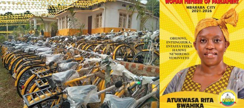 'Yellow Bicycles' is a Good Move – Mbarara Woman MP Aspirant Rita Bwahika