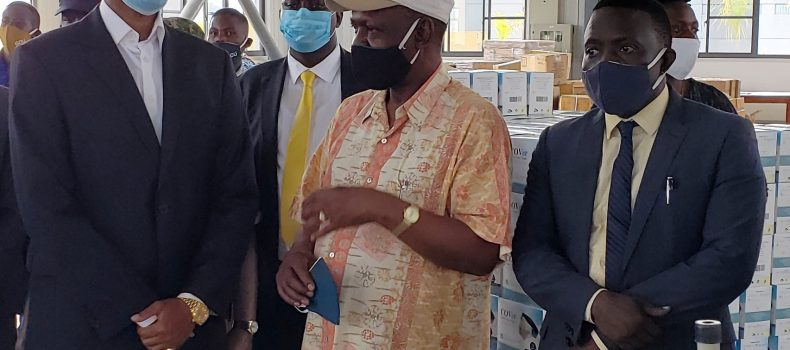 King Oyo Visits Uganda Industrial Research Institute, Roots For Tooro kingdom