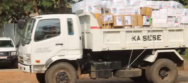 Distribution of Gov't Face Masks in Kasese Hot Spots Commences