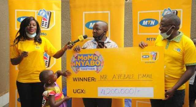 Airport Taxi Driver Wins Big From MTN MoMoNyabo Together Promotion