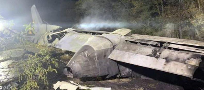 Ukraine military plane crash kills at least 22