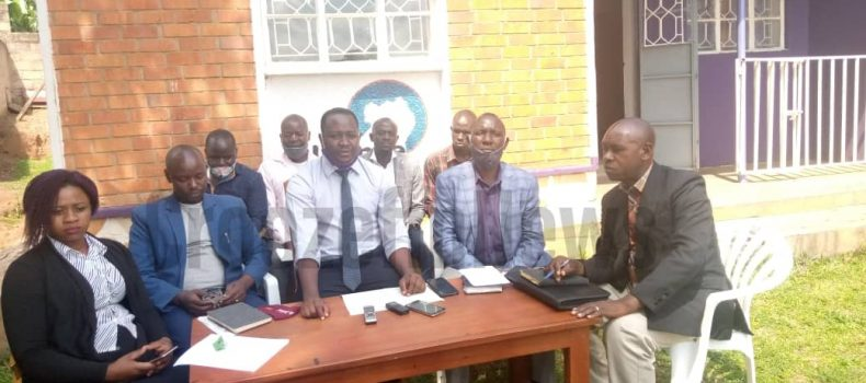 Mbarara ANT members including teachers cry out to the government