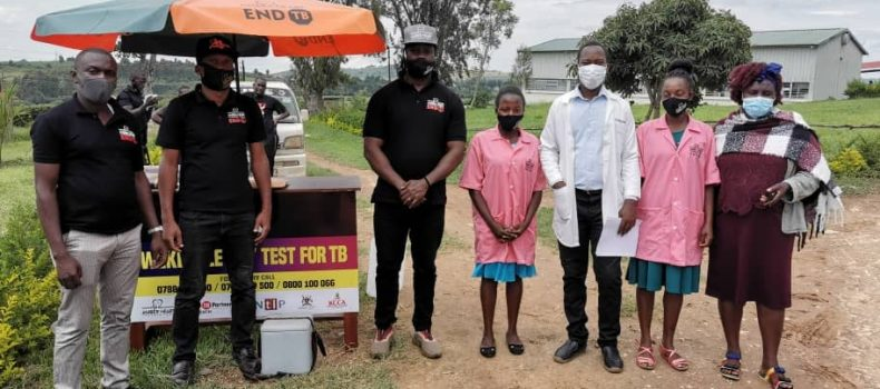 Bebe Cool extends TB REACH to Mbarara under Amber heart foundation