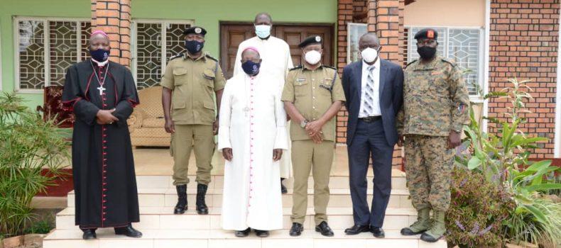 IGP apologizes to Rtd Emeritus John Baptist Kagwa and the catholic church