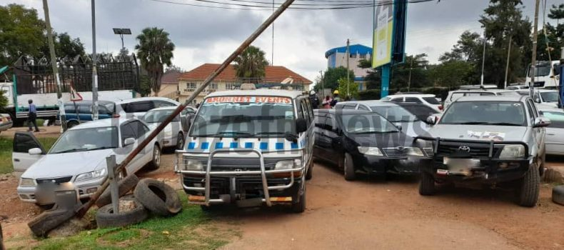Over 40 vehicles impounded in Mbarara as Uganda's COVID-19 deaths hit 81