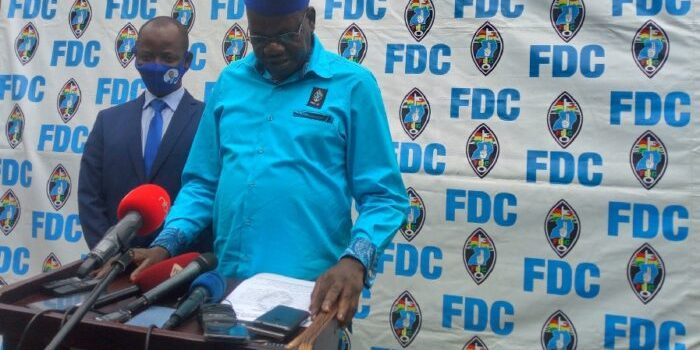 FDC to present signatures today