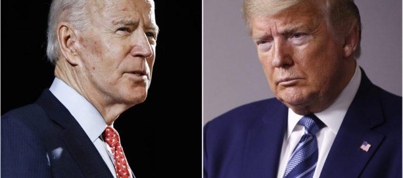 Joe Biden in early lead