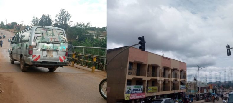 Katete bridge in a poor state after costing about shs450 million,Buremba road traffic lights also faulty