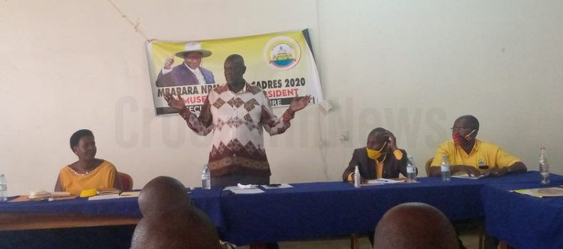 Mbarara NRM cadres convene a meeting ahead of Bobi Wine's visit