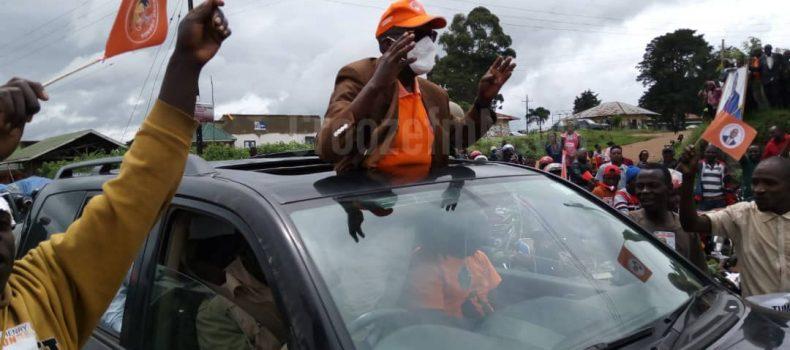 Gen. Tumukunde starts his presidential campaigns in Rukungiri,Kanungu,Kisoro