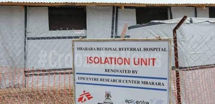 COVID-19 patients at Mbarara regional referral hospital reduce to four